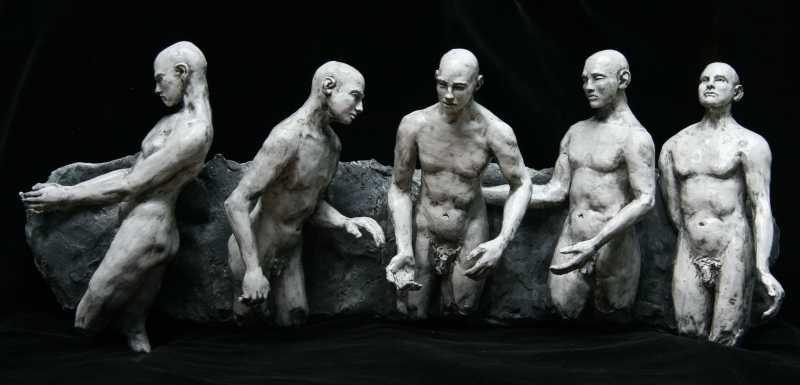 5_Man_Wall-Hung-no_shadows_-L-Bob_Clyatt_Sculpture