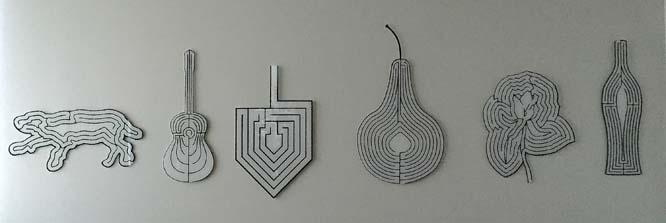 Labyrinths:plexiglass