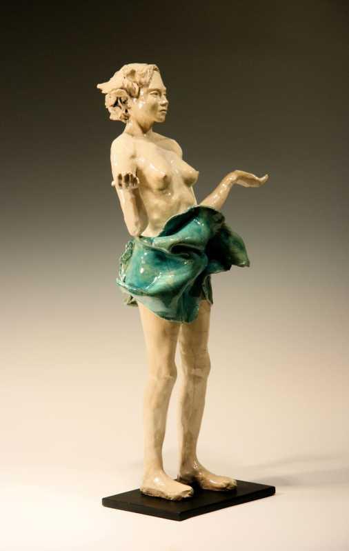 Bob_Clyatt_2_-Woman_Hands_Open_Raku-24-34R-L-Bob_Clyatt_Sculpture