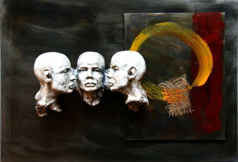 Three_Heads_Same_full_-L-_Bob_Clyatt_Sculpture